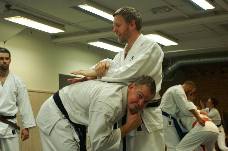 Karateläger september 2015